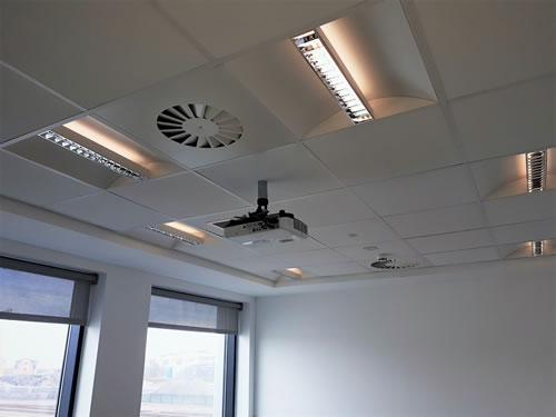 Suspended Ceilings Derby | Partition Systems Nottinghamshire